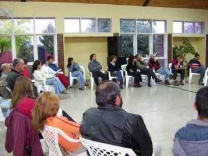 Seminario lanzamiento capacitaciones Abril 2005
