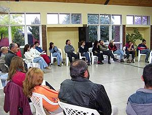 Capactación en Zona: La Consulta, Mendoza