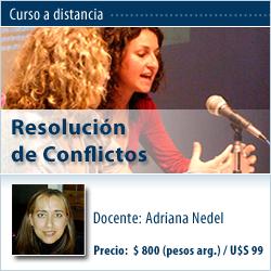 Curso a distancia: Resolución de Conflictos